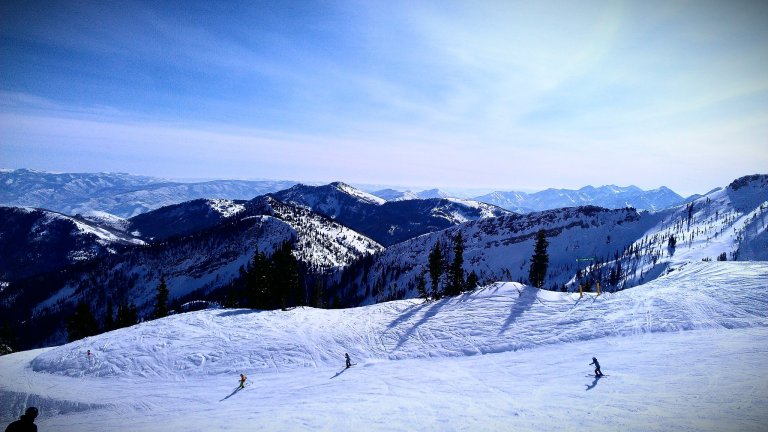 Snowbird Ski Resort, January 2012