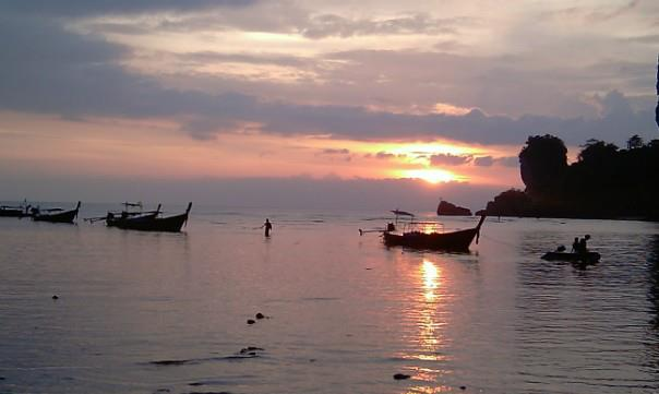 thai sunset